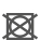 Dit symbool geeft informatie over of een product wel of niet in de droger kan. De cirkel in het vierkant betekent dat een droger kan worden gebruikt. De stippen binnen de cirkel in het vierkant geven de temperatuurinstelling voor het drogen aan. 1 stip: lage temperatuur van 60 °C. 2 stippen: normale temperatuur tot een maximum van 80 °C.