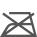 Este símbolo especifica el planchado o prensado. Los puntos de su interior indican las temperaturas máximas de planchado o prensado. 1 punto: temperatura máxima de 110ºC. El planchado con vapor puede causar daños irreversibles. 2 puntos: temperatura máxima de 150ºC. 3 puntos: temperatura máxima de 200ºC.