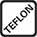 Materiaal met Teflon coating.