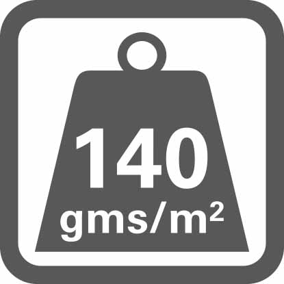 Material weight per m2