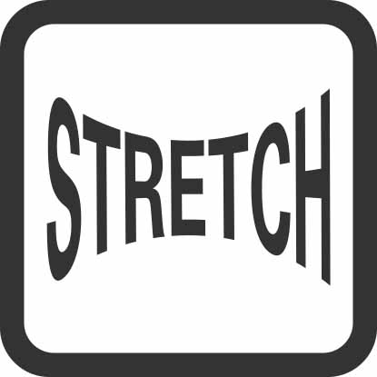 Material with stretch