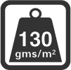 Material weight per m2