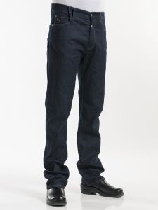 Chef Pants Jeans Blue Denim Stretch