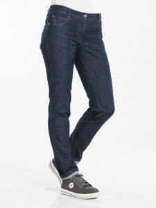 Chef Pants Lady Skinny Blue Denim Stretch