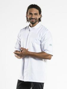 Chef Jacket Salerno RPB White Short Sleeve