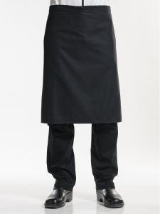 Apron Black Denim W100 - L70