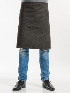 Apron Pouch Brown Denim W80 - L60
