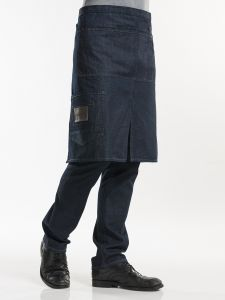 "Apron Multipocket Blue Denim 26"" W90 - L65"