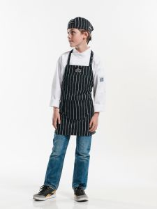 Bib Apron Kids Big Stripe W50 - L55