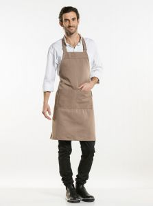 Bib Apron Nordic Base Clay W70 - L85