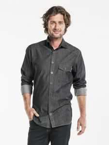Shirt / Blouse Men Antra Denim Stretch