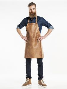 Bib Apron Regular Bourbon Gold W65 - L80