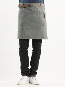 Apron Forene Grey Denim W70-L50