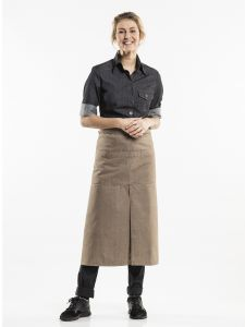 Apron 4-Pockets Mud Denim W90 - L80