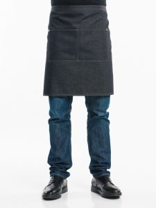 Apron Black Denim W90 - L50