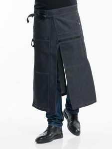 Apron Chap Black Denim