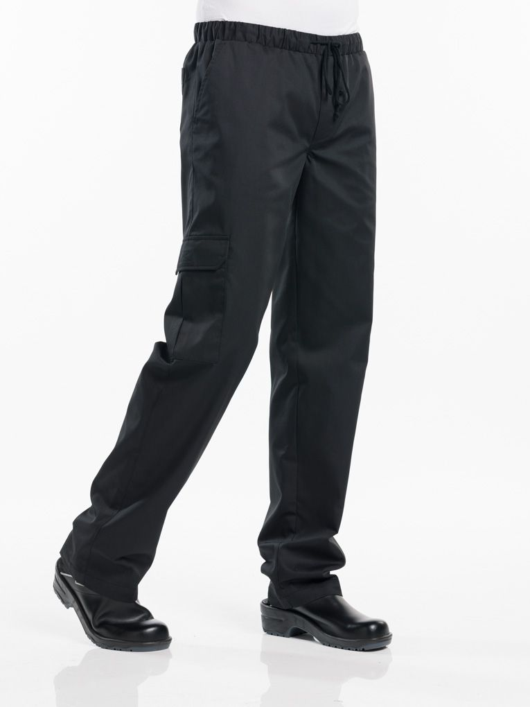 Chef Pants Baggy Black