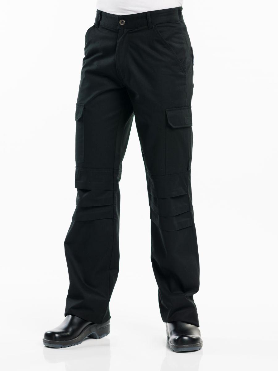 Chef Pants Worker Black