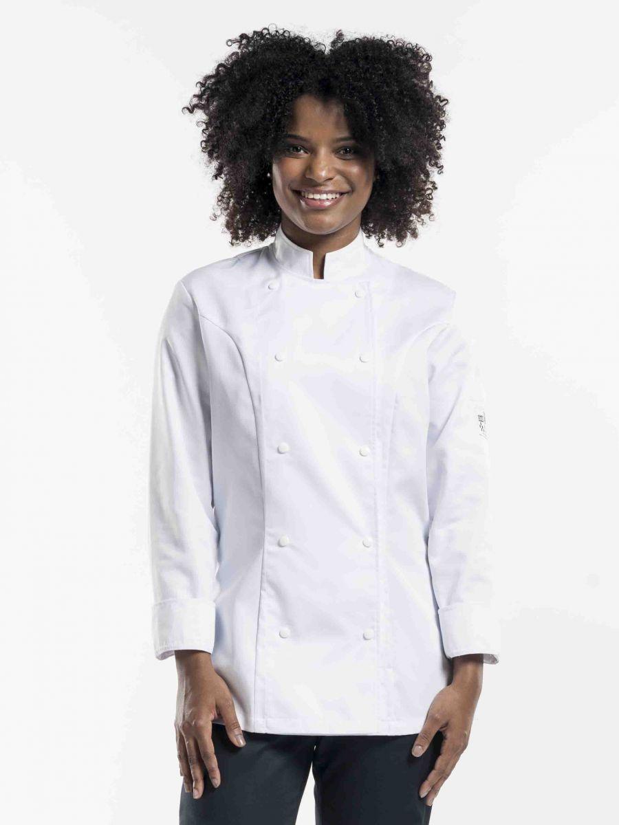Chef Jacket Lady Comfort White