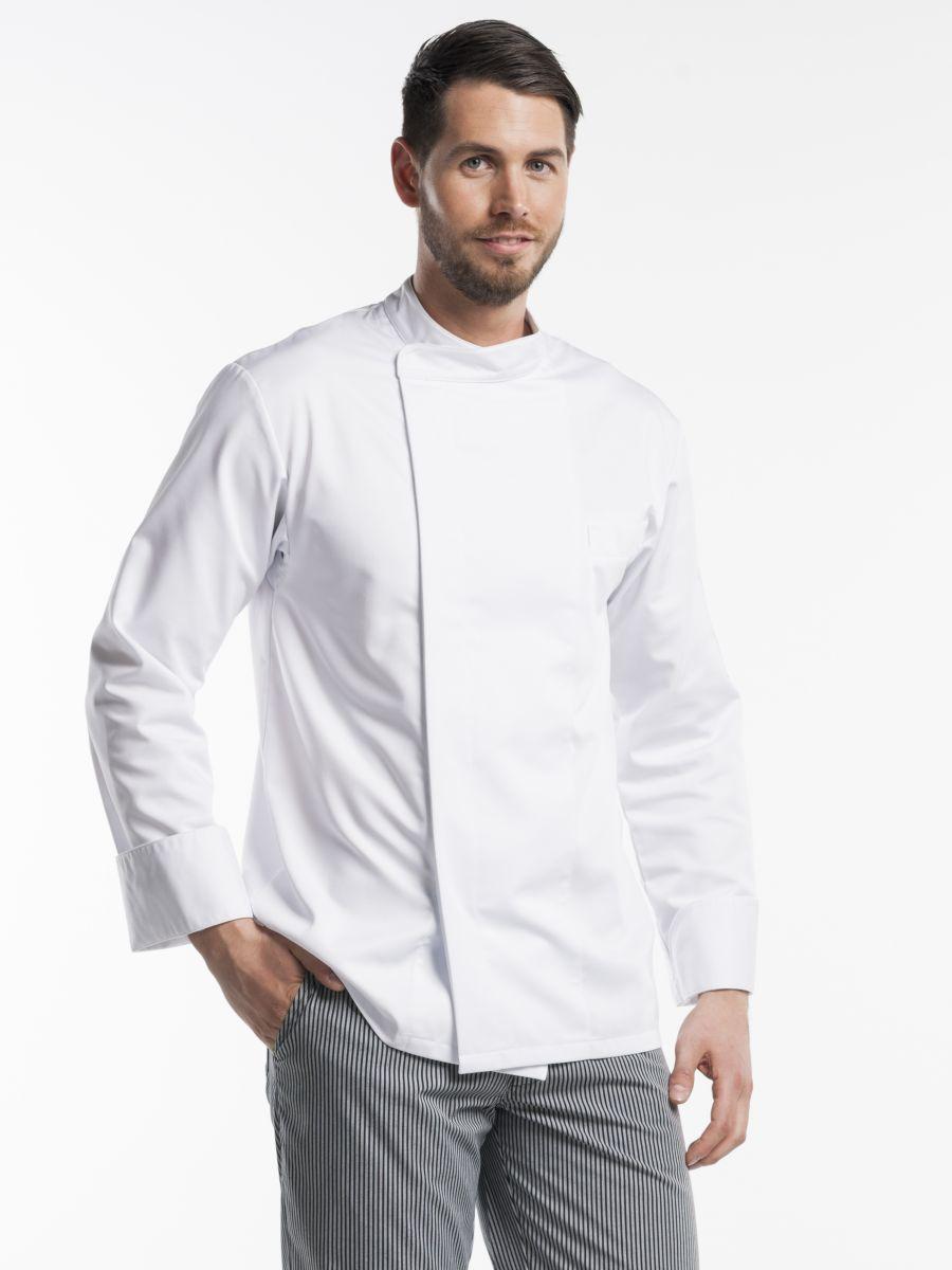 Chef Jacket Bacio White
