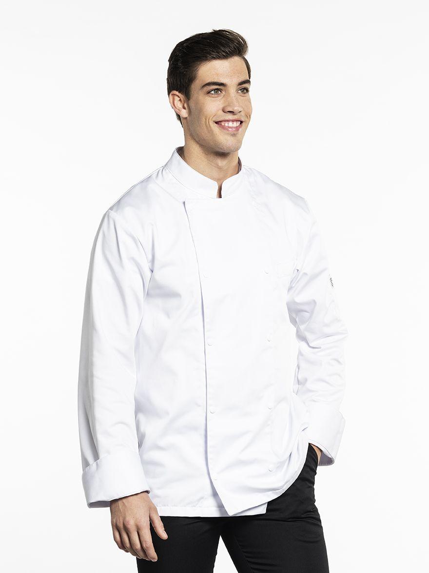 Chef Jacket Roma White