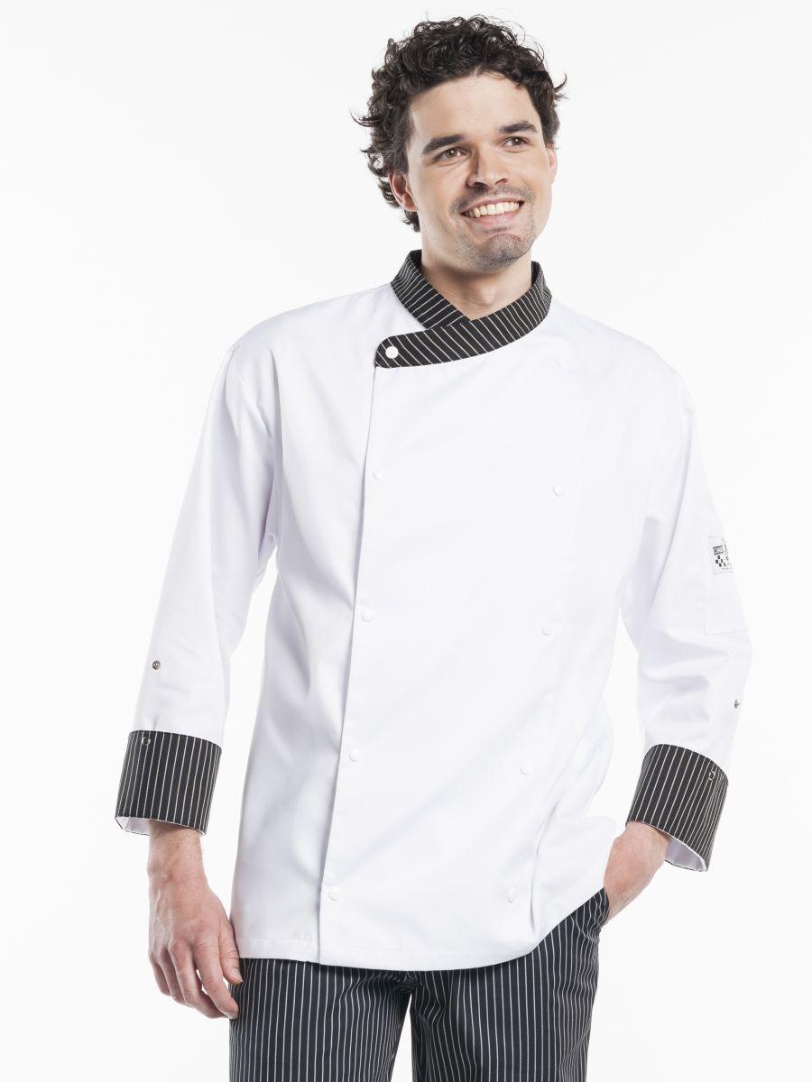 Chef Jacket Ligne Noir