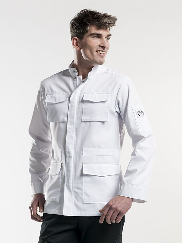 Chef Jacket Parka White