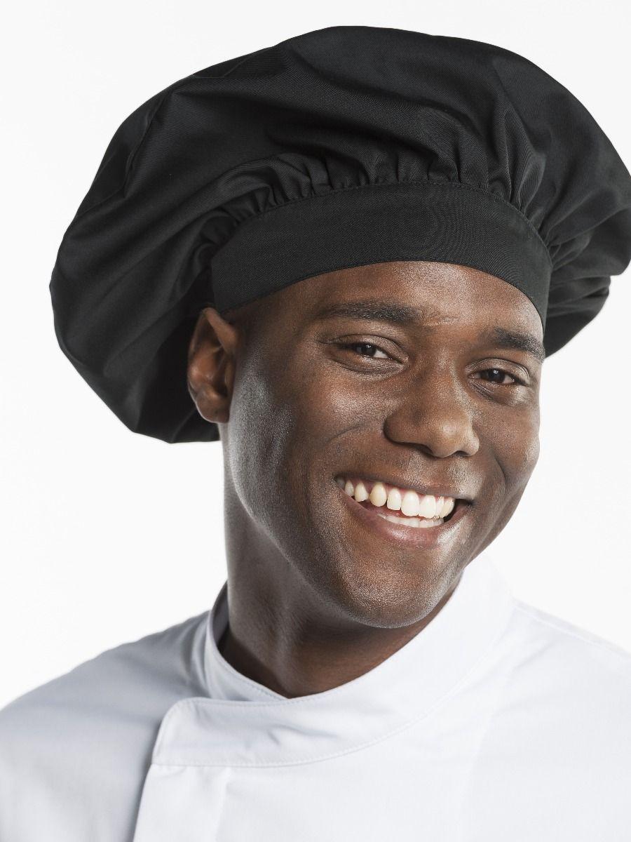 Headwear Chef Hat Nero one size