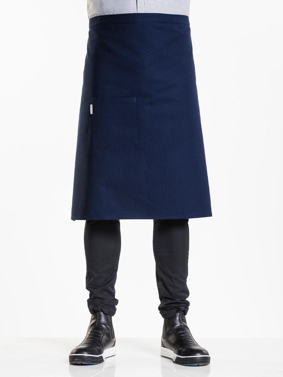 Apron Nordic Blue W90 - L65