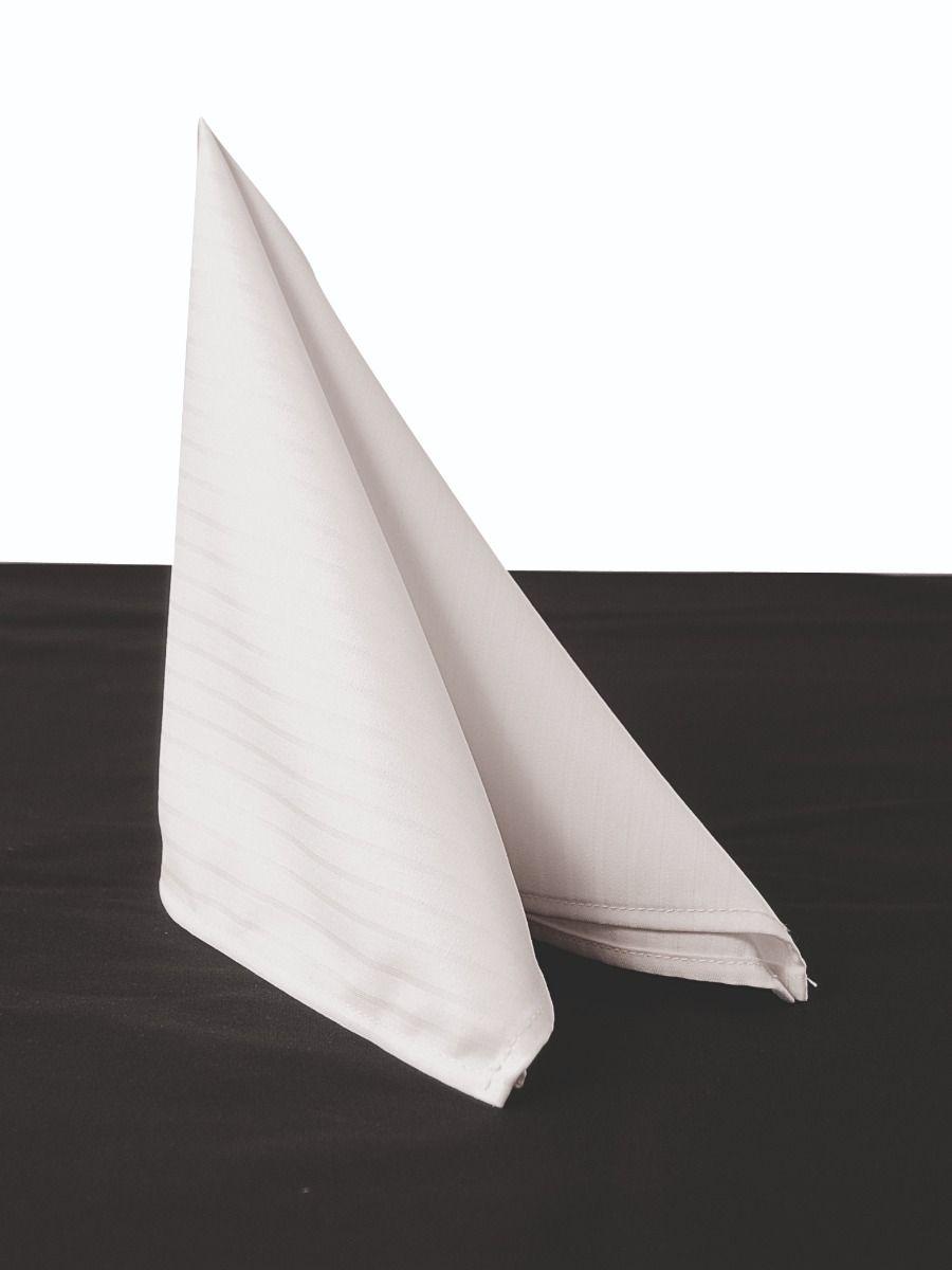 Table Textiles Napkin Santino White (6pcs) 50x50 cm