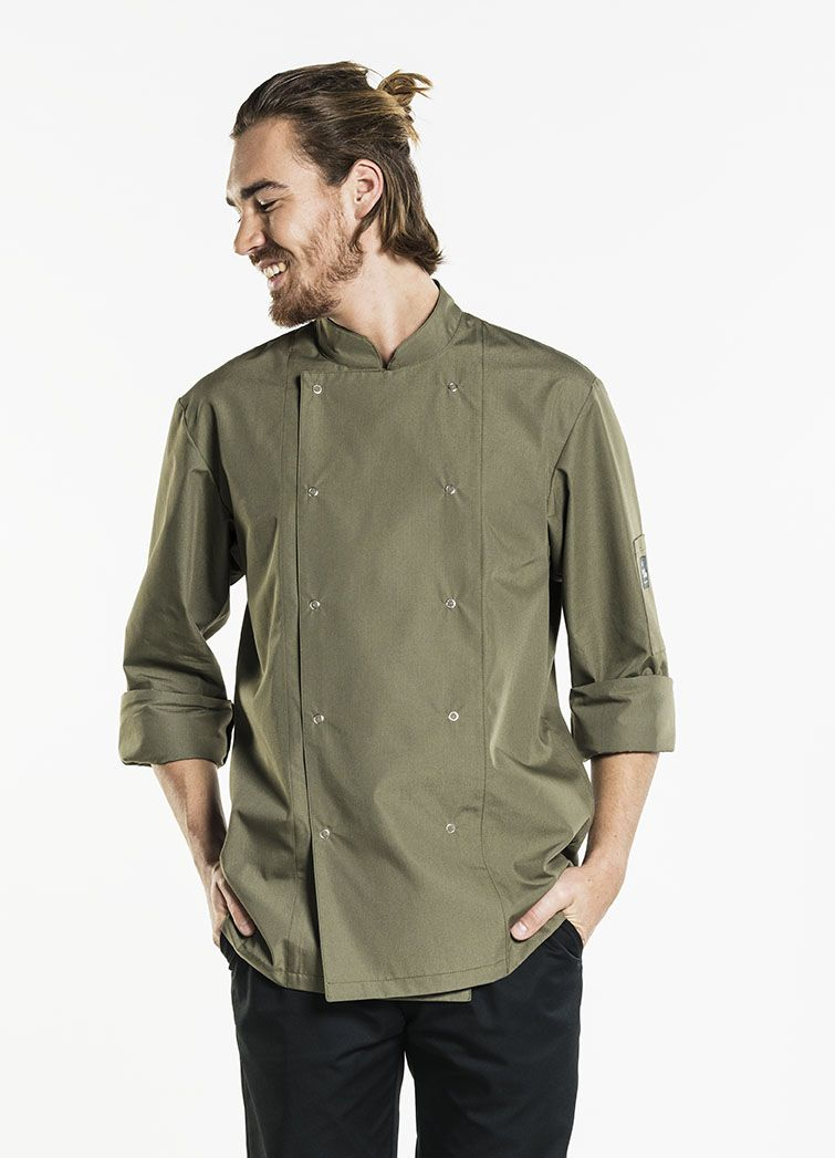 Chef Jacket Hilton Poco Dark Olive
