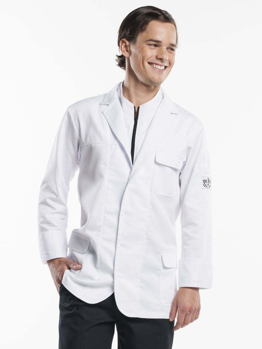 Chef Jacket Montello White