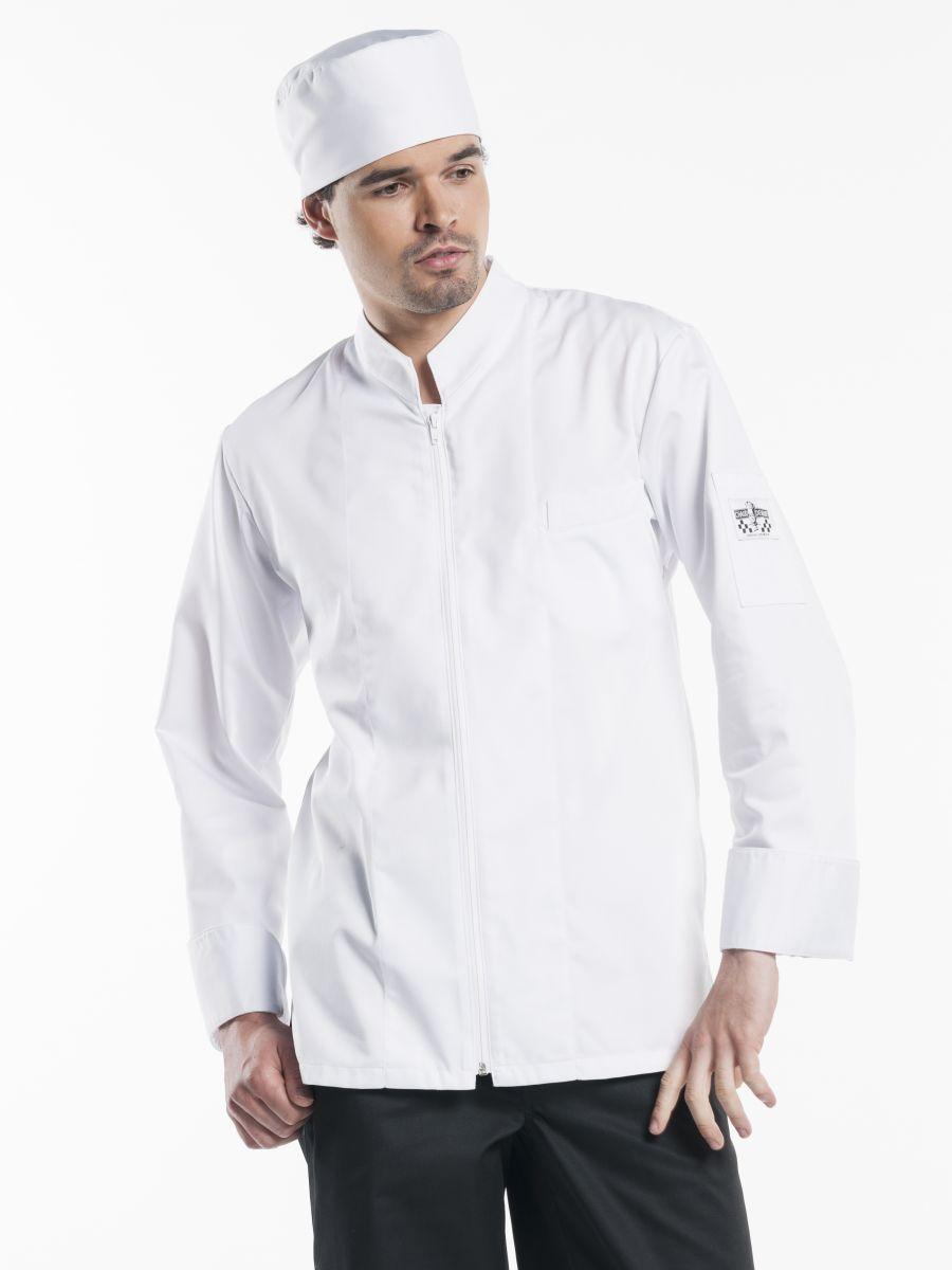Chef Jacket Monza White