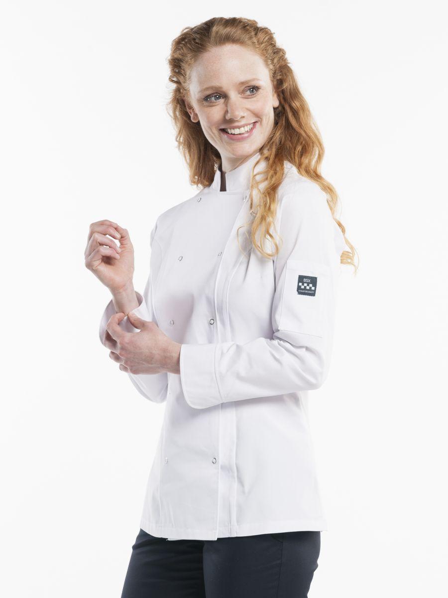 Chef Jacket Lady Poco White