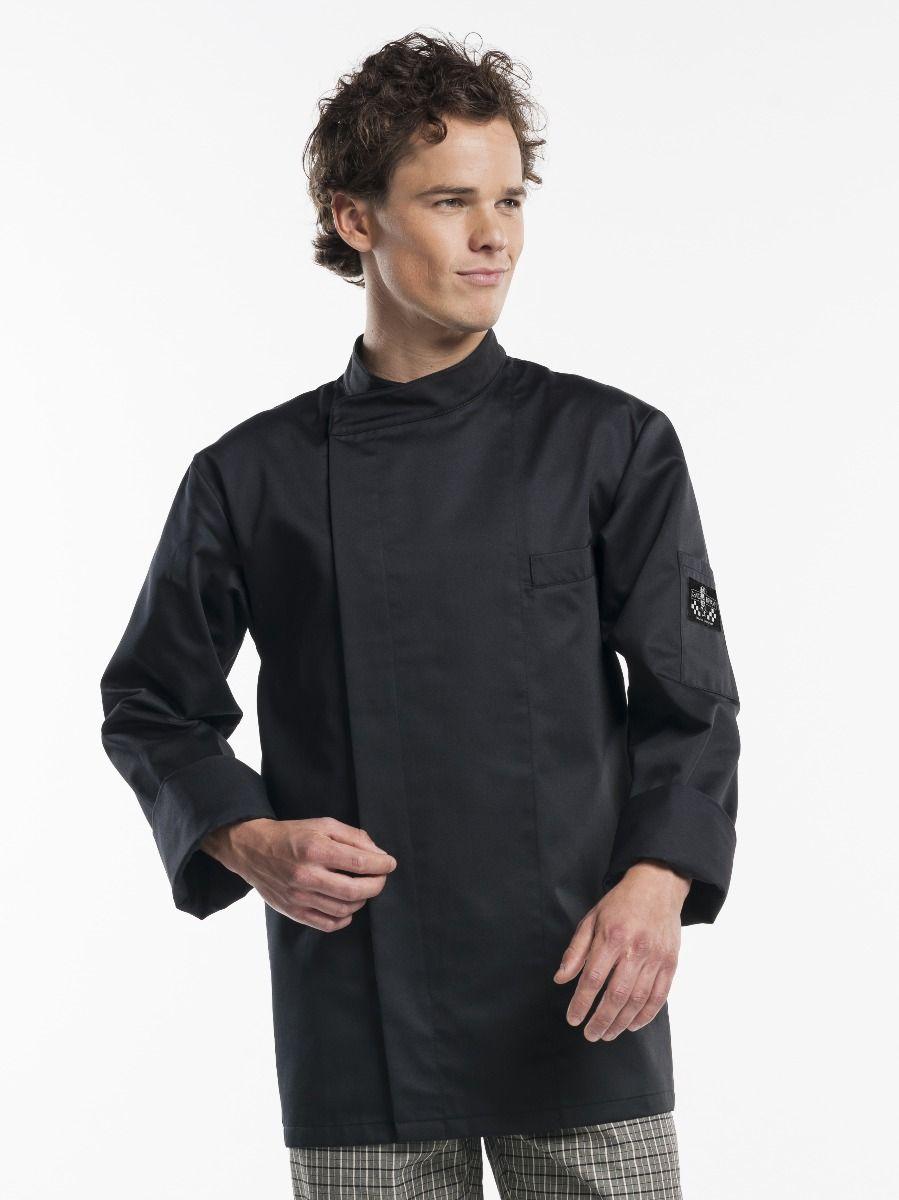Chef Jacket Bacio Black
