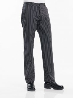 Chef Pants Ligne Noir