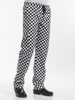Chef Pants Baggy Domino