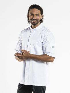 Chef Jacket Salerno RPB White Short Sleeve