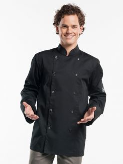 Chef Jacket Hilton Poco Black