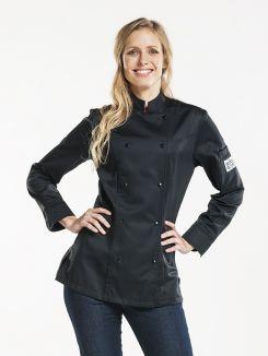 Chef Jacket Lady Comfort Black