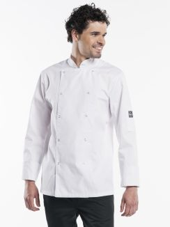 Chef Jacket Hilton Poco White