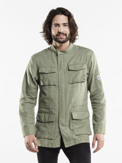 Chef Jacket Parka Green