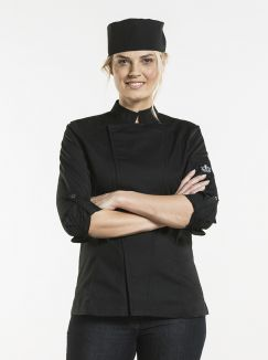 Chef Jacket Lady Biker SFX Black