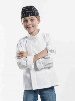 Chef Jacket Kids White