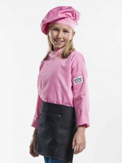 Chef Jacket Kids Pink