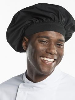 Headwear Chef Hat Nero one size
