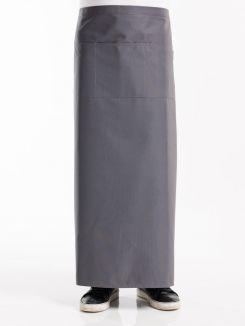 Apron 3-Pockets Grey W100 - L100