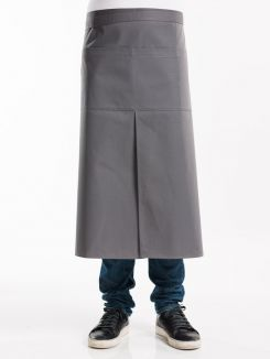 Apron 4-Pockets Grey W90 - L80