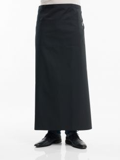 Apron 3-Pockets Black W100 - L100