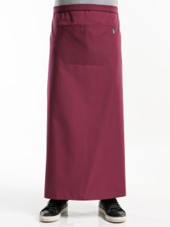 Apron 1-Pocket Burgundy W120 - L100